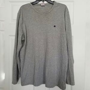 Brooks Brothers gray long sleeve t-shirt large
